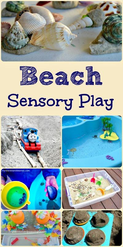 Beach Sensory Play