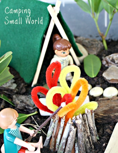 Camping-small-world-and-sensory-play-create-your-own-camp-site