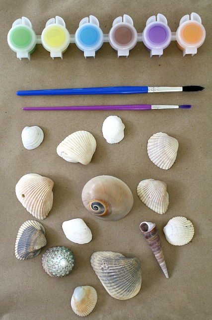 Invitation to Create-Paint Shells