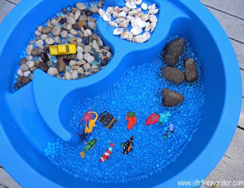 Small Worlds In The Water Table