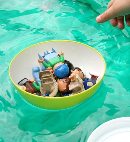 Sink and Float Preschool Science