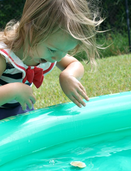 Toddler Sink and Float Activity