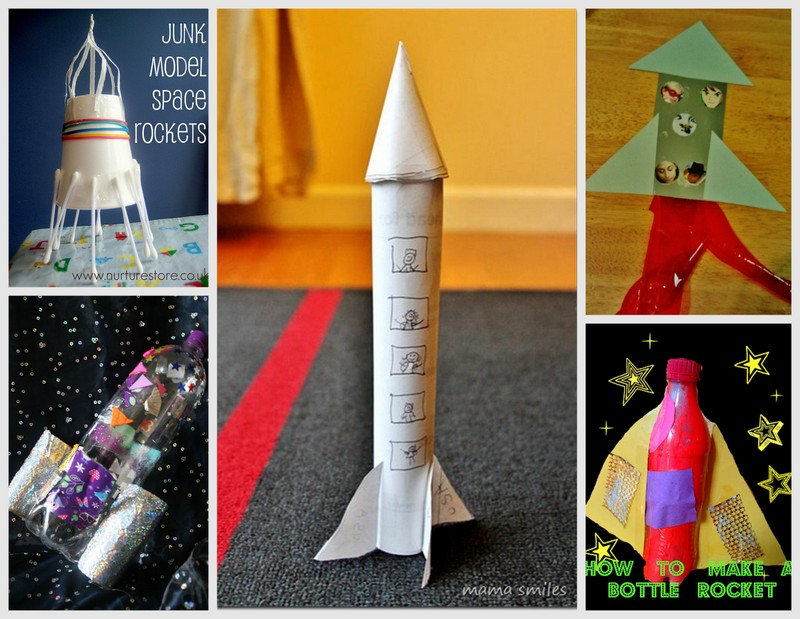 Rocket ship crafts