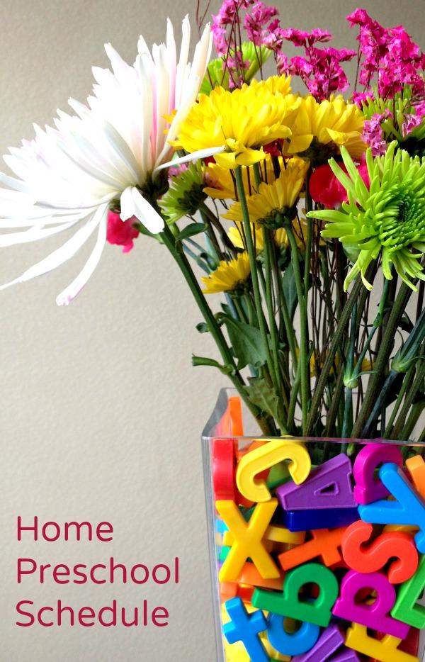 Home Preschool Schedule 2013-2014