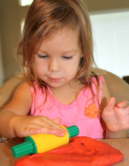 Toddler Play Dough Activities