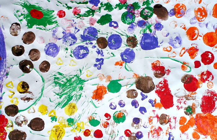 Vegetable Painting Preschool Art