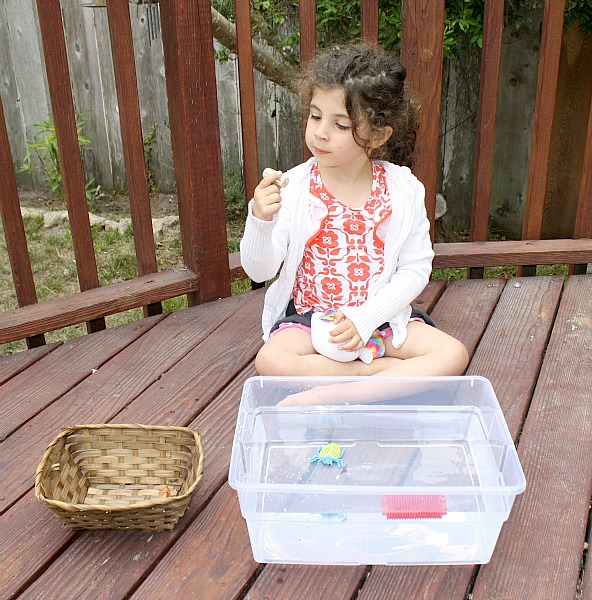 Sink or Float Preschool Activity with Free Printable