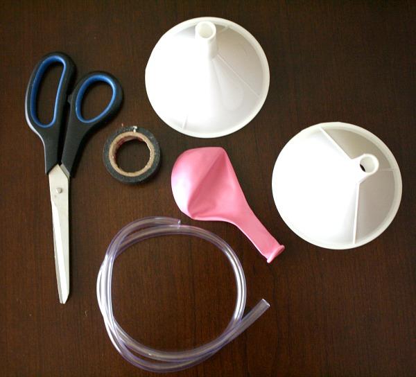 DIY Stethoscope Materials