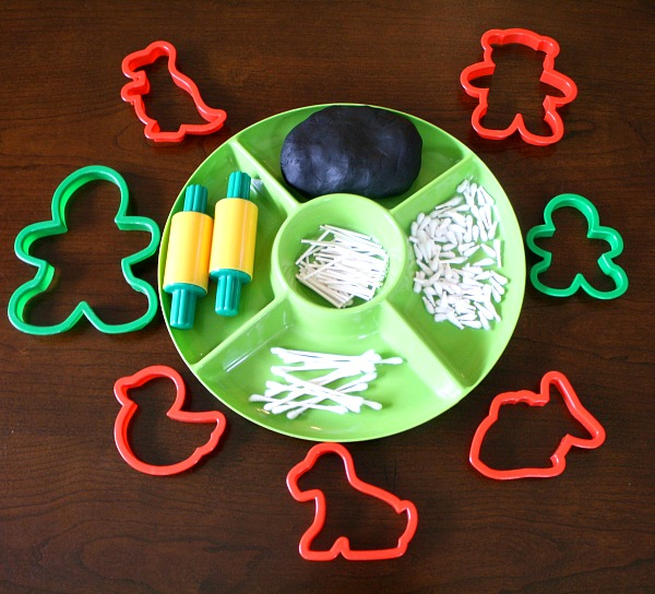 Invitation to Create-Play Dough Skeletons