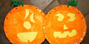 Jack-o-Lantern Craft for Kids
