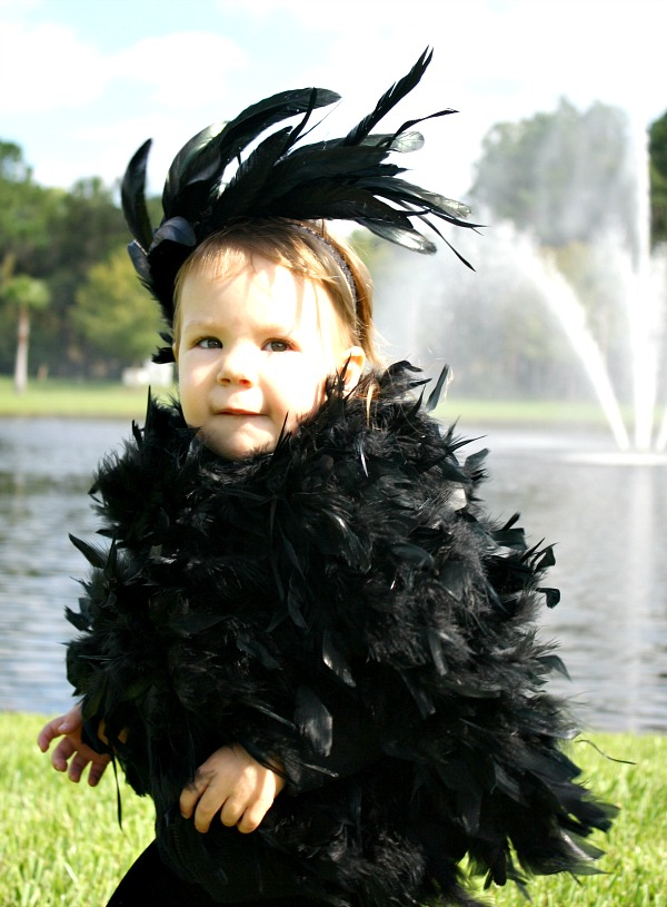 No-Sew Bird Halloween Costume for Kids