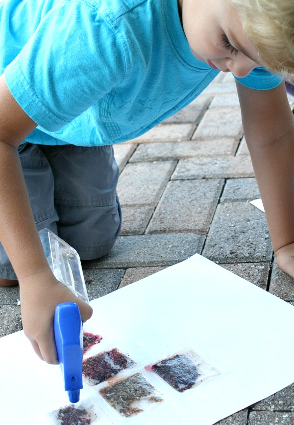 Paint with Tea Bags