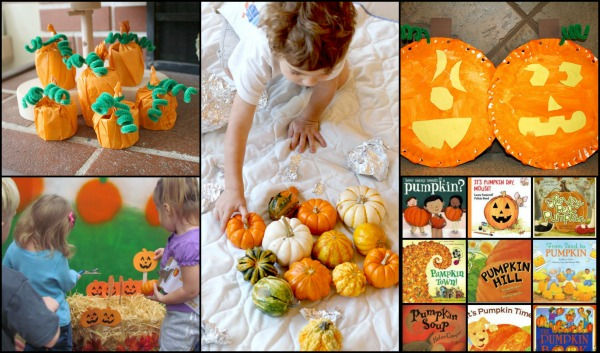 Pumpkin Co-Host Collage