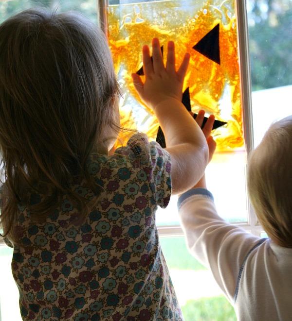 Toddler Halloween Activity Squish Bag