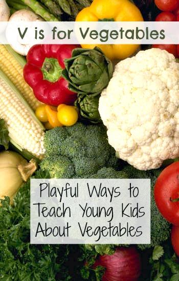 Vegetable Activities For Kids