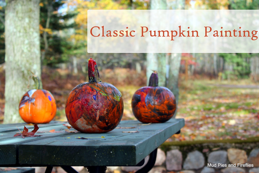 Classic Pumpkin Painting