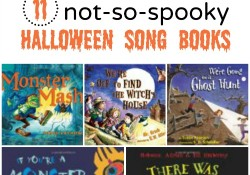 11 Not-So-Spooky Halloween Song Books