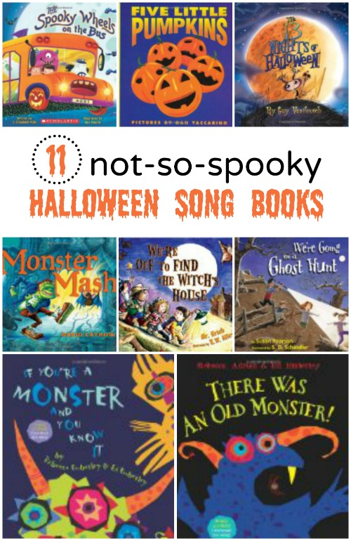 11 not so spooky halloween song books - Halloween Kids Books