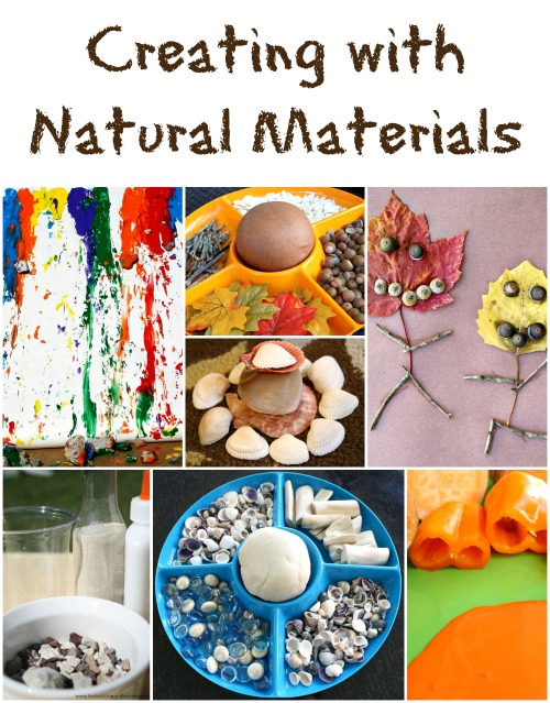 10 Ideas For Creating With Natural Materials