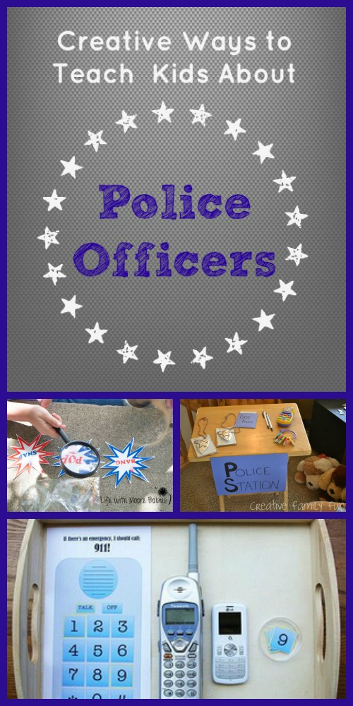 Creative Ways to Teach Kids About Police Officers