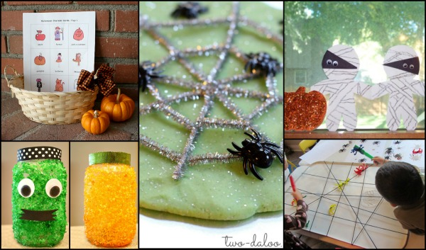 Halloween Activities from Discover and Explore co-hosts