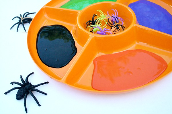 Invitation to Create-Spider Painting
