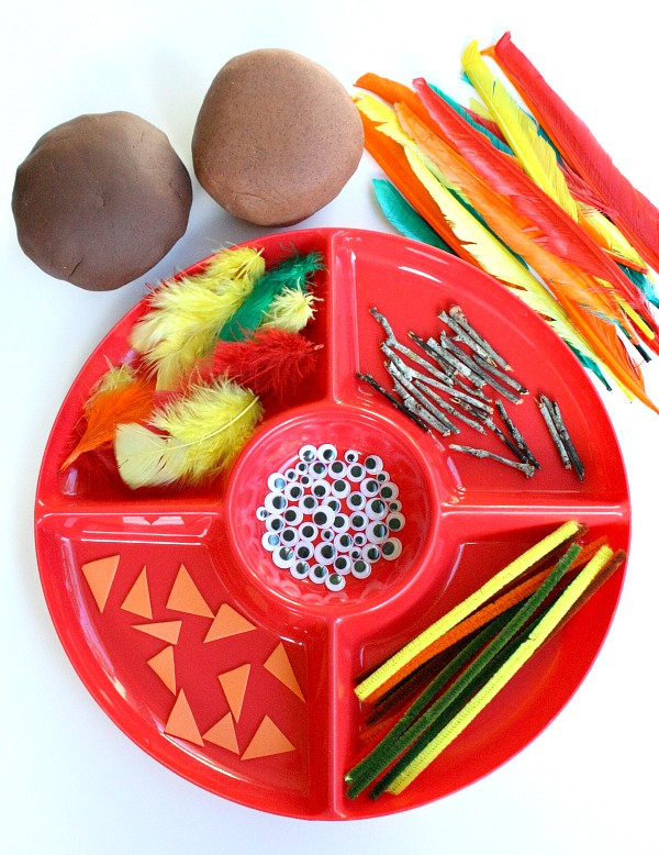 Invitation to Create-Turkey Play Dough