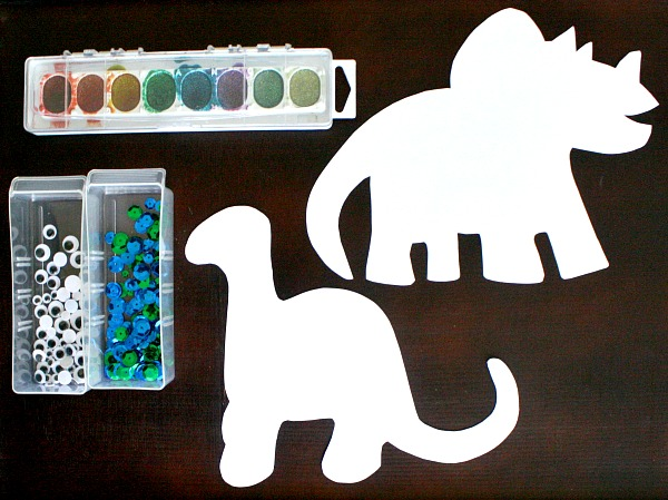 Invitation to Create~Dinosaur Art
