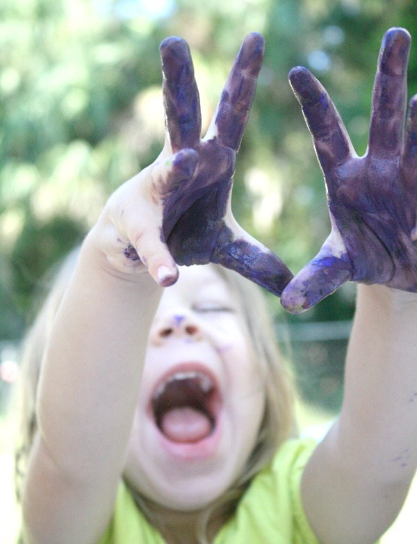 Messy Play for Toddlers