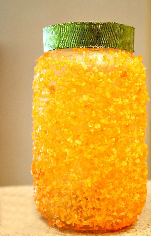 Pumpkin Jar Craft for Kids