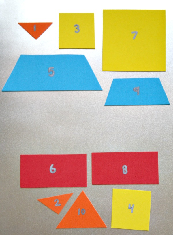 Rocket Puzzle for Kids-Sorting odd and even numbers