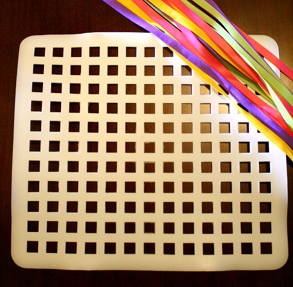 Simple Weaving Invitation to Play