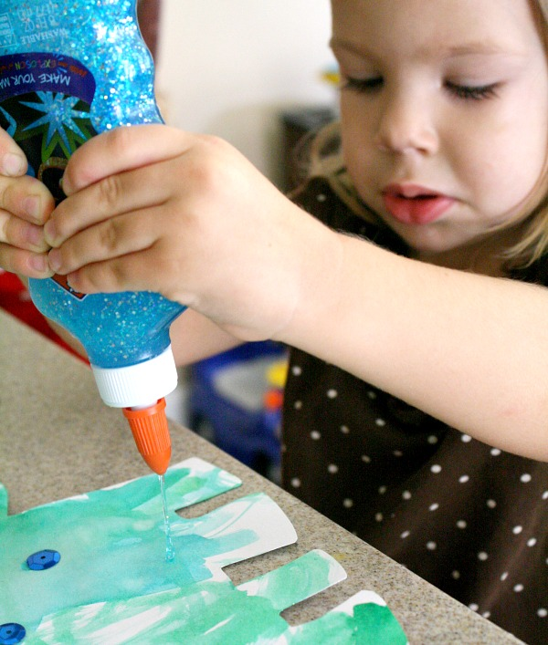 Toddler Art-Dinosaur Craft
