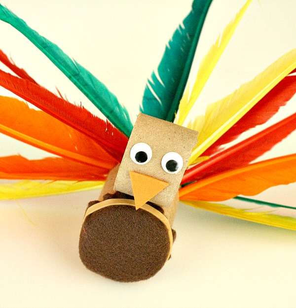 Turkey Craft and Fine Motor Activity for Kids
