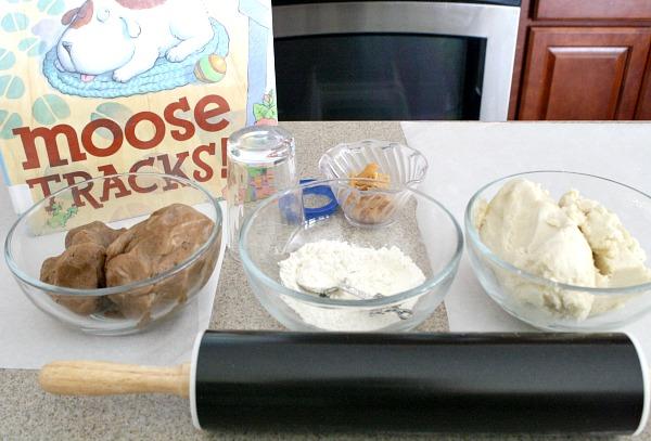 Baking Moose Tracks Cookies