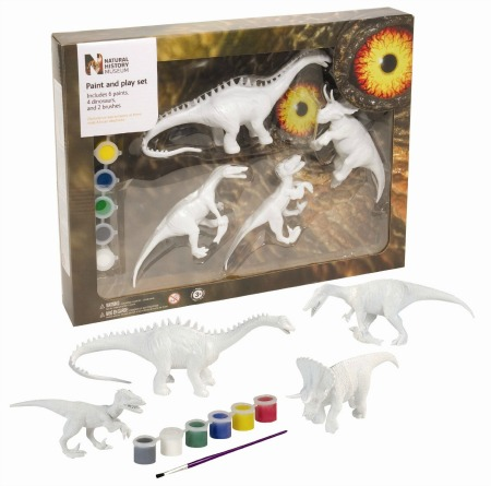 Dinosaur Paint & Play Set