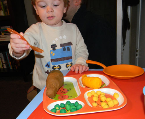 Play Dough Feast
