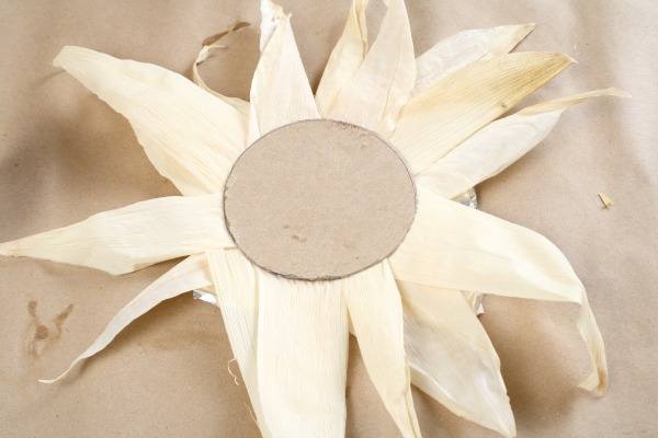 Indian Corn Sunflower Craft