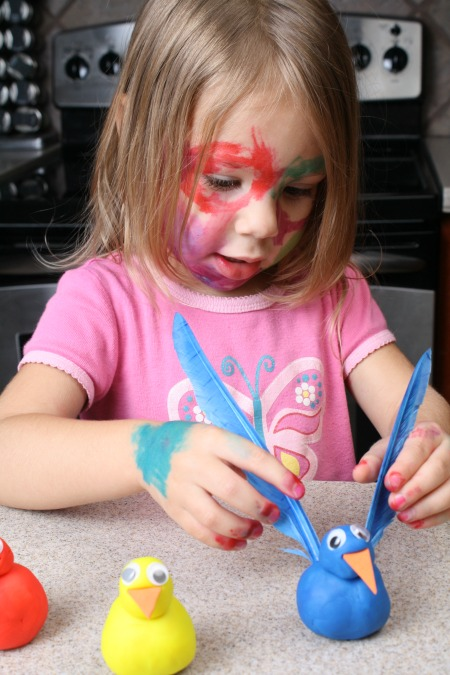 Toddler Color Sorting-Turkey Feathers