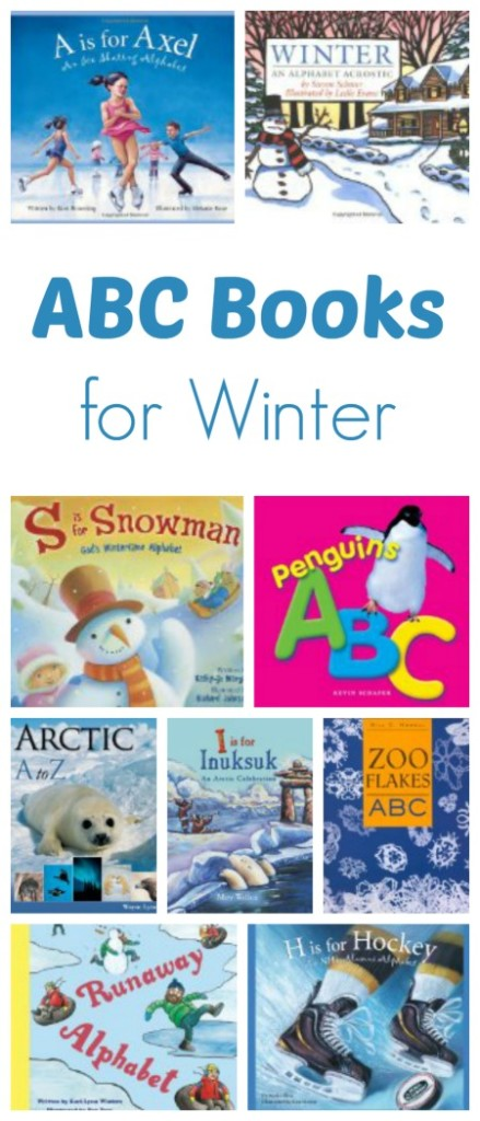 ABC Books for Winter...learn about winter and winter activities with these great alphabet books for winter
