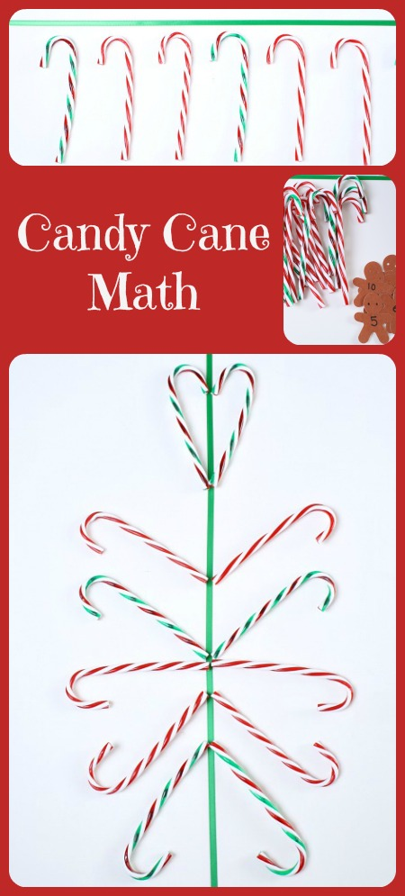 Candy Cane Math for Kids...five fun hands-on math activities using candy canes