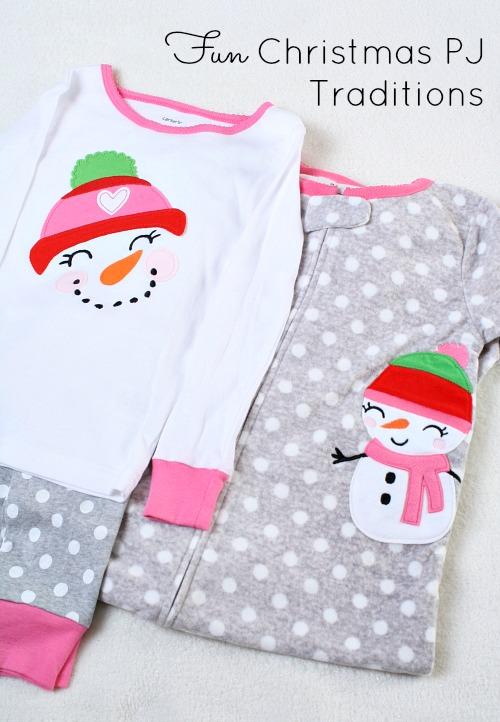 Fun Christmas Pajama Traditions