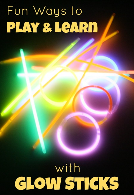 Fun Ways to Play and Learn with Glow Sticks