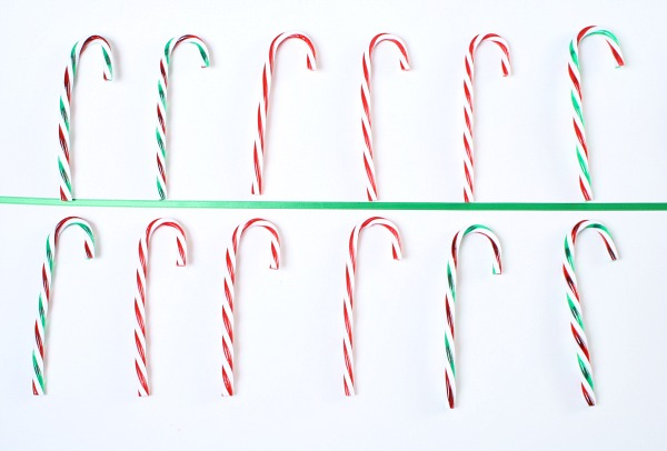 one-to-one correspondence with candy canes