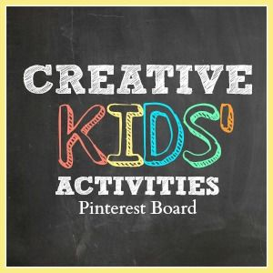 Creative Kids' Activities Pinterest Board