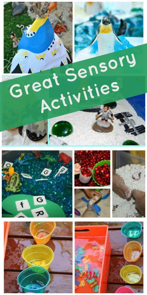 Great Sensory Activities for Kids