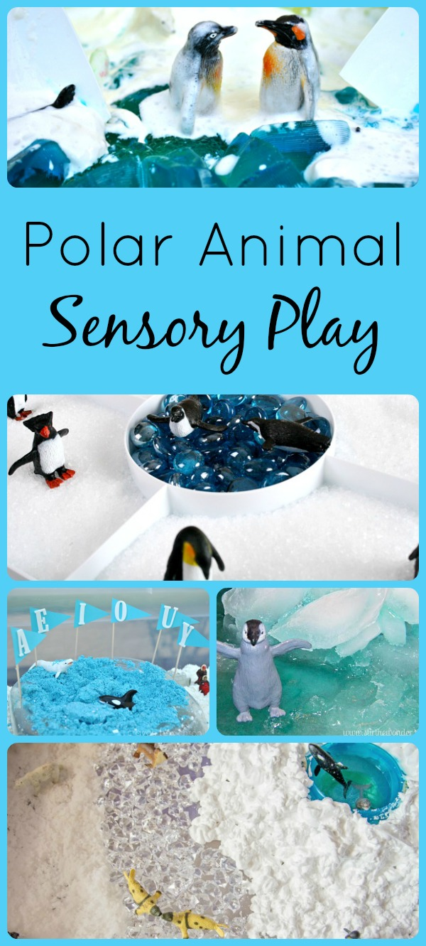 Polar Animal Sensory Play
