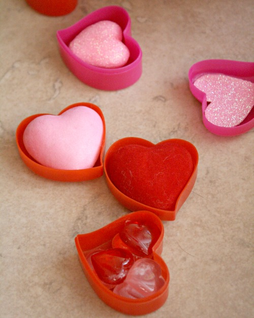 Pretend Chocolates for Valentine's Day
