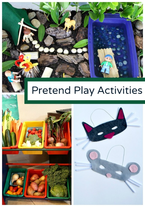 Discover and Explore Pretend Play Activities
