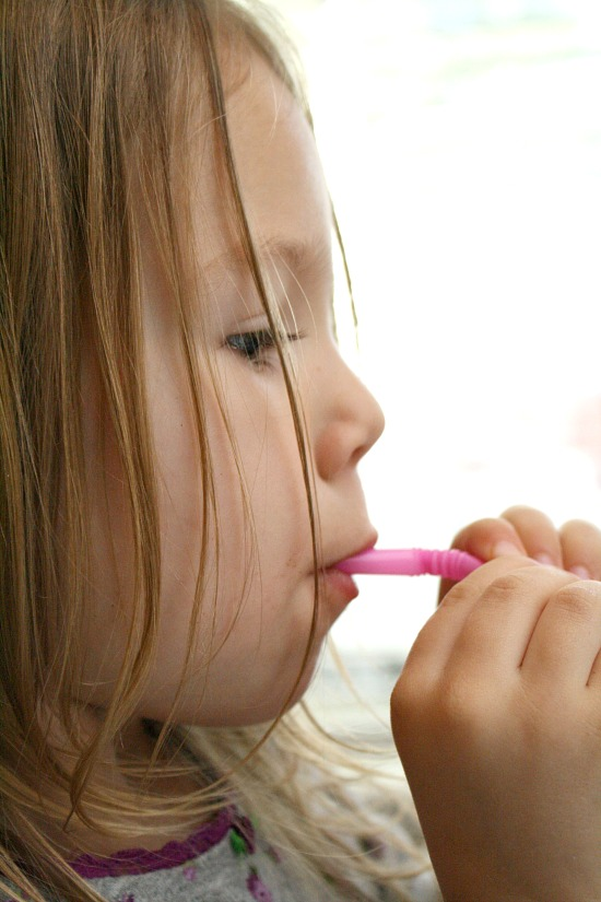 Toddler Play-Straws